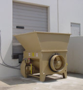 dock feed 10 hp auger compactor w/o container